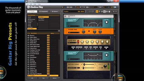 Guitar Presets instruments guitar rig preset collection load cpgame