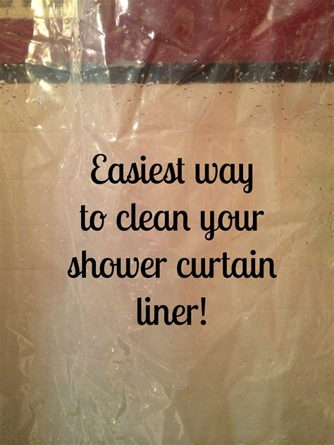 clean your shower curtain liner effortlessly yes this