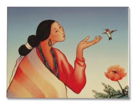 Chinle Hummingbird-r.c. Gorman Crystal Tiles