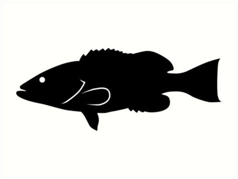 silhouette grouper gag getdrawings
