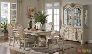 vintage dining room sets betty antique traditional light wood formal dining set with buffet and hutch rpcmo30
