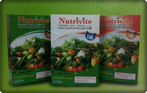 Pupuk Kalsium Tinggi nutrivite pupuk organik teknologi tinggi