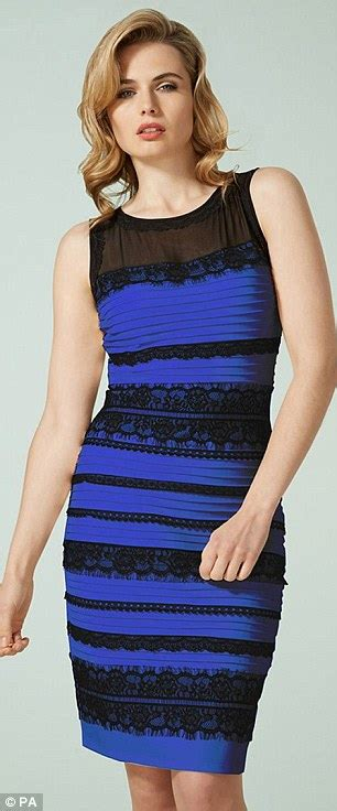 dress gate the dress that divided the is blue and black