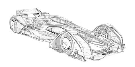 Coloring Pages: Racecars Coloring Pages