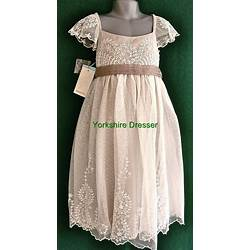 f427fe36f67 New Monsoon Girls Ivory Ayla Lace Tulle Party Bridesmaid