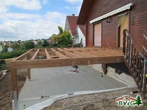 holzterrasse unterkonstruktion With garten planen mit balkon holzbelag unterkonstruktion