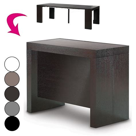 console extensible avec rallonge integree table console extensible avec rallonges integrees