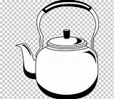 Kettle Coloring Teapot Clipart Cliparts Colouring Clip sketch template