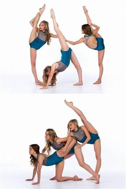 Dance Poses Partner Dancer Trio Shoot Contemporary