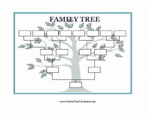 blank family tree template With blank family tree template for kids