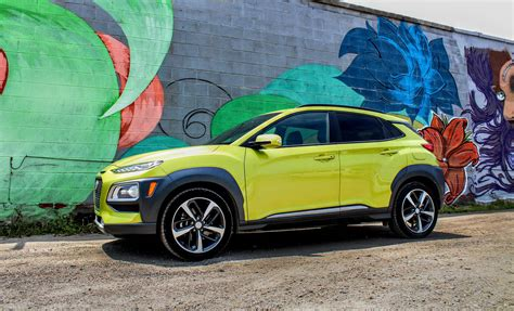 Review Hyundai Kona 2019 by 2019 Hyundai Kona Review A Lime Green Crossover With A Twist