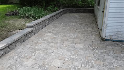custom paver patios walkways in st louis ladue