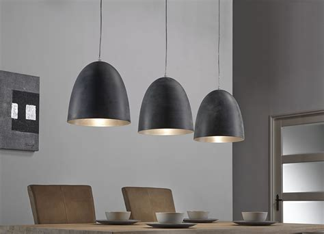 luminaire suspension gris  lampes design greno