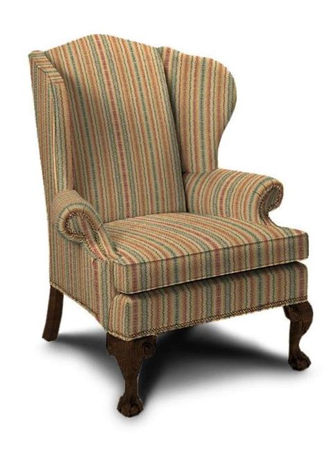 vintage ethan allen wingback chair cost to re upholster a wing chair