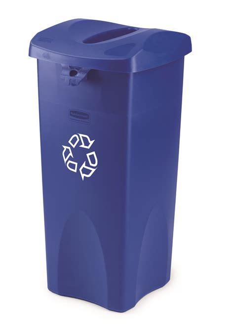 23 gallon rubbermaid untouchable square recycling
