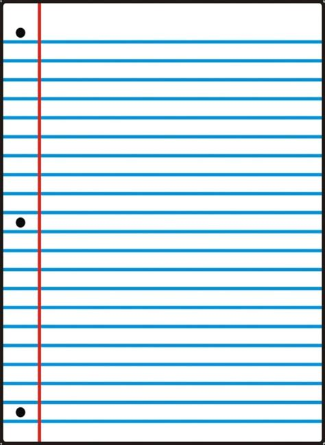 printable notebook paper college wide ruled