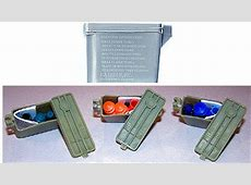 Ear Plugs Military Style With Case And Chain