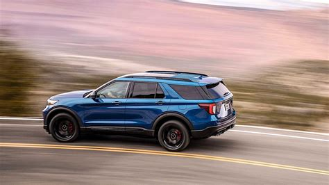 2020 Ford Explorer St by 2020 Ford Explorer St Comes Into The World As The Most