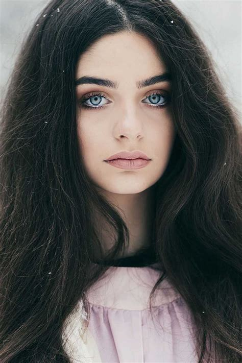 Image Result For Black Hair Blue Eyes Character