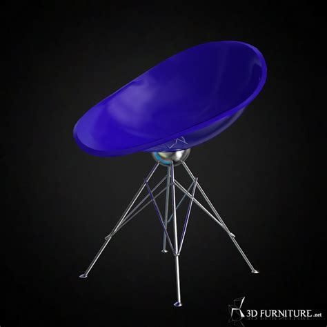 3d Philippe Starck Eros Chair  High Quality 3d Models