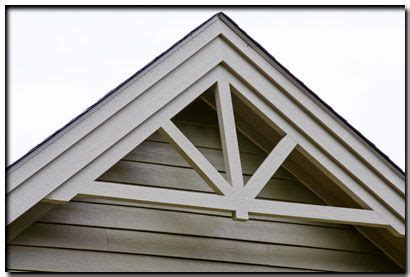 decorative gable trim millwork for gable could do it right the shingles