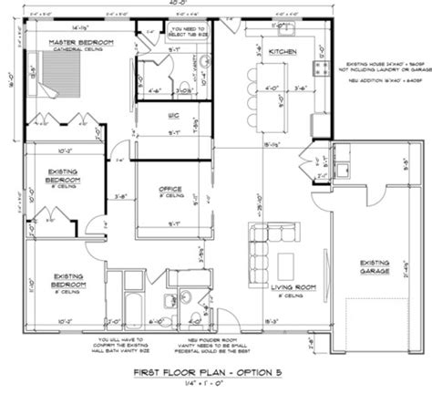house remodeling   good floor plan