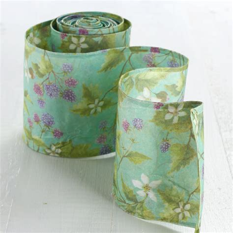 shabby chic ribbon shabby chic floral paper wired ribbon ribbon and trims craft supplies