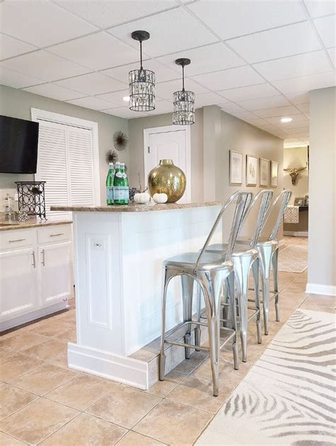 Basement Bar Island by Home Bunch Interior Design Ideas