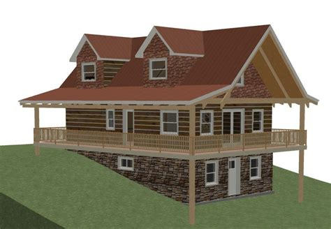 Hillside House Plans With Walkout Basement New House Plan Dining Room Chairs On Ebay Gray Tables Triangle Set Cherry Large Table And Rug In Balmoral Public Chandelier For With Crystals