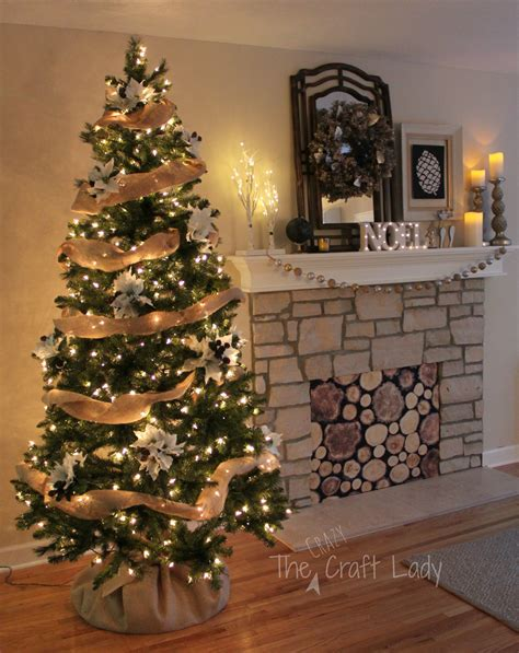 easy peasy christmas tree decorating  crazy craft lady