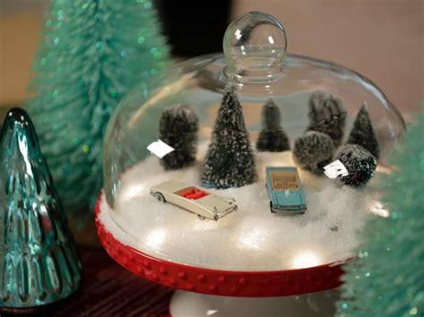 schneekugel basteln  geschenkideen zum selbermachen