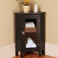 corner cabinet bathroom 20 Corner Cabinets to Make a Clutter-Free Bathroom Space | Home Design Lover
