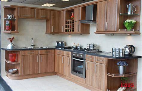 walnut shaker kitchen cabinets home fitted kitchen uk 6996