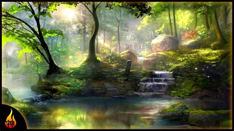 hour celtic fantasy  enchanted forest beautiful