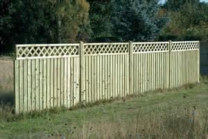 Pressure Treated Wood Fence Panels