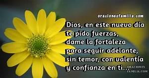 Oración Cristiana para este Día Te pido Fuerzas, Dios Oraciones de Familia