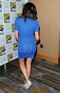 Daniela Ruah CBS Television Studios Press Line At Comic