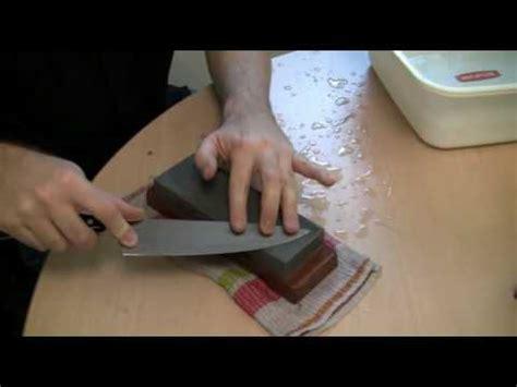 messer schleifen wasserstein messer schleifen mit einem japanischen wasserstein 4 teil