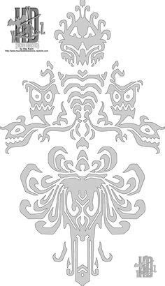 1007x1589 collection of free disney vector haunted mansion. Haunted Mansion Wallpaper to print on cardstock to ...