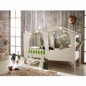 Cabane Enfant Occasion : cadre de lit cabane enfant en bois avec sommier drawer ~ Teatrodelosmanantiales.com Idées de Décoration