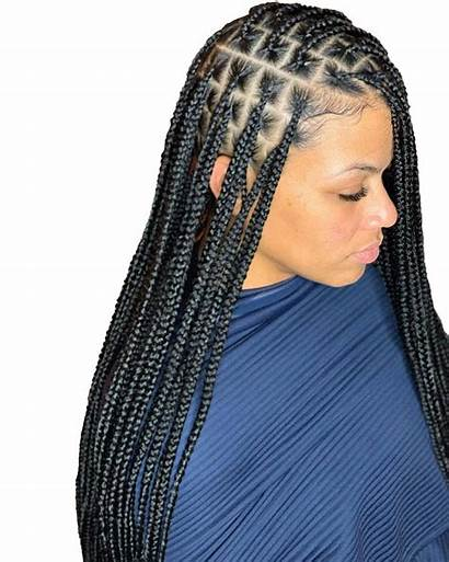 Transparent Braids Hairstyle Mart