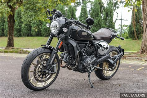 Review Ducati Scrambler Cafe Racer by Review 2017 Ducati Scrambler Cafe Racer Rm68 999 Paul