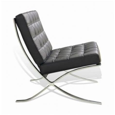 copy cat chic design within reach barcelona chair