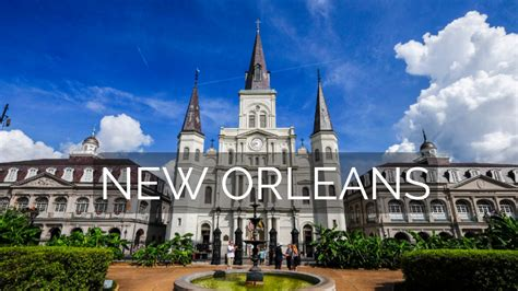 new orleans louisiana is the place to be