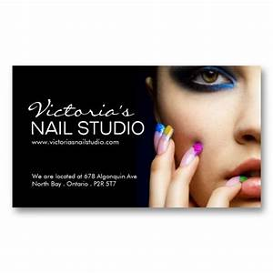 Paper business card templates card templates and for Nail technician business cards