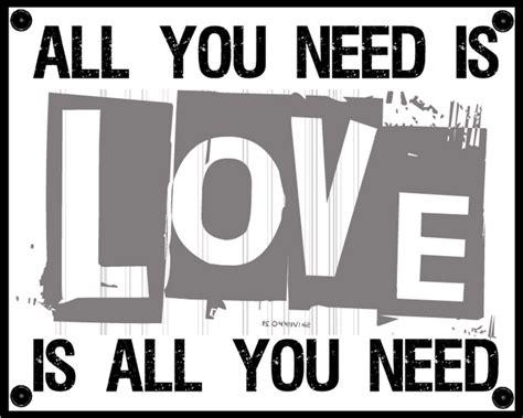 An Arkies Musings The Beatles  All You Need Is Love