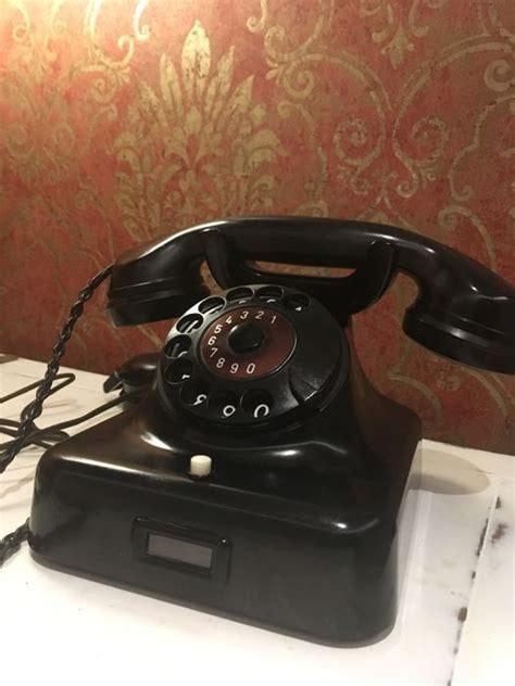 siemens halske w48 1954 telephone bakelite catawiki