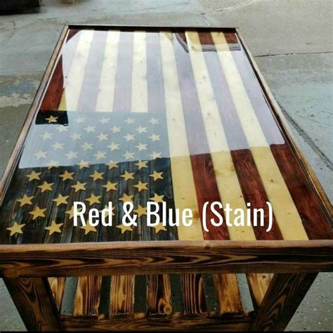 The flag is made of 1 1/2 thick reclaimed hemlock and oak as well as walnut. 313 best Home ideas images on Pinterest | Patriotic wreath, Crowns and Dining rooms
