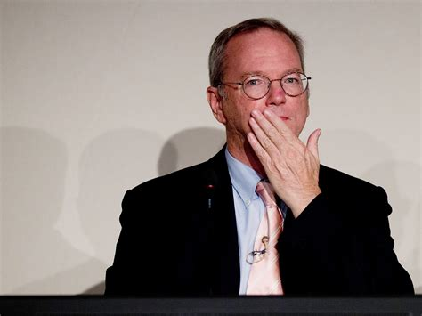 Former CEO Eric Schmidt says Google had to revamp its ...