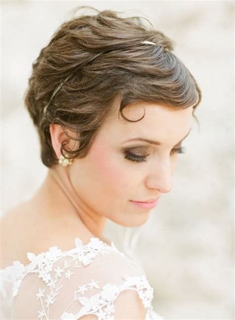 stunning short wedding hairstyles for women pretty designs